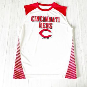 Cincinnati Reds Boys Tank Moisture Wicking